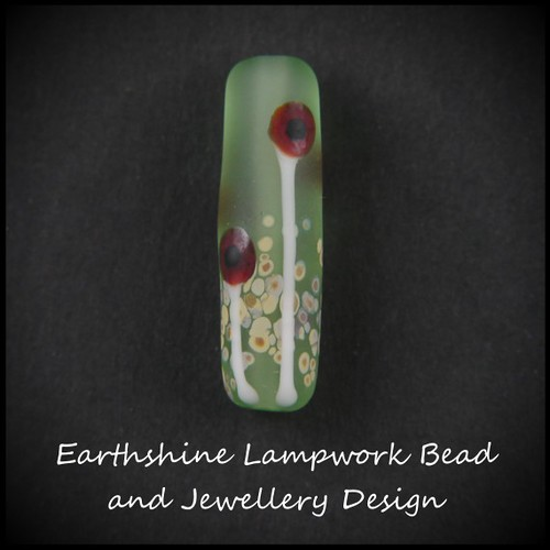 Poppy Floral Bead