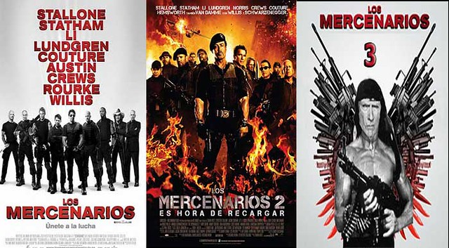 mercenarios  the expendables 3