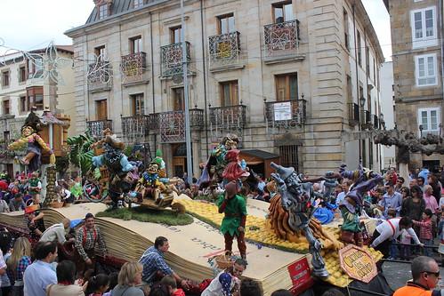 Fotos reinosa desfile de carrozas San mateo 2012