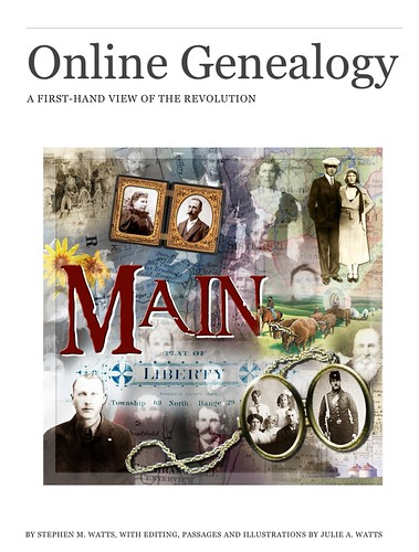 Online Genealogy Book Cover Image