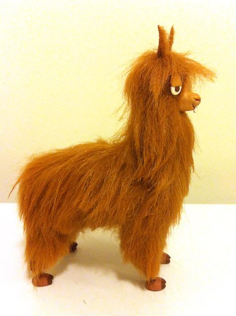 Alpaca puppet