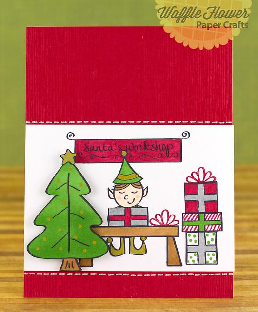 Santa's Workshop Card
