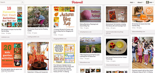 Kids' Fall Activities Pinterest Board