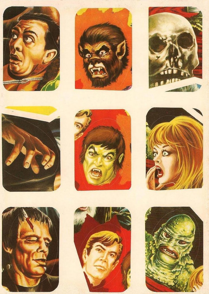 Horror Movie Stickers - 10