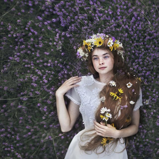 Rob Woodcox - A heart sewn of flowers