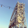Caught the Duluth Aerial Lift Bridge in action while enjoying a happy hour with compatriots