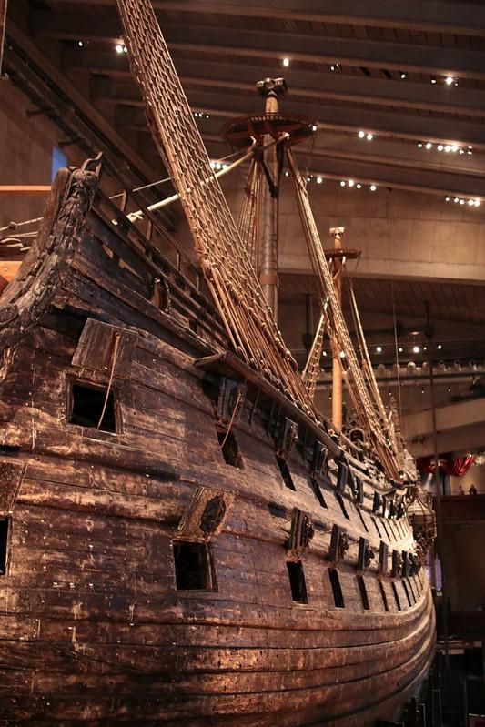 Stockholm Vasa boat