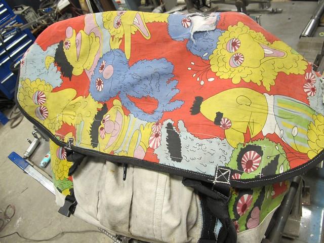 サイコ野郎のバッグ。