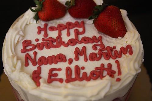 Nana and Wombat Birthday Cake