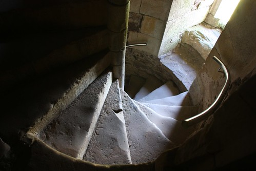 Spiral Stair at Doune Castle