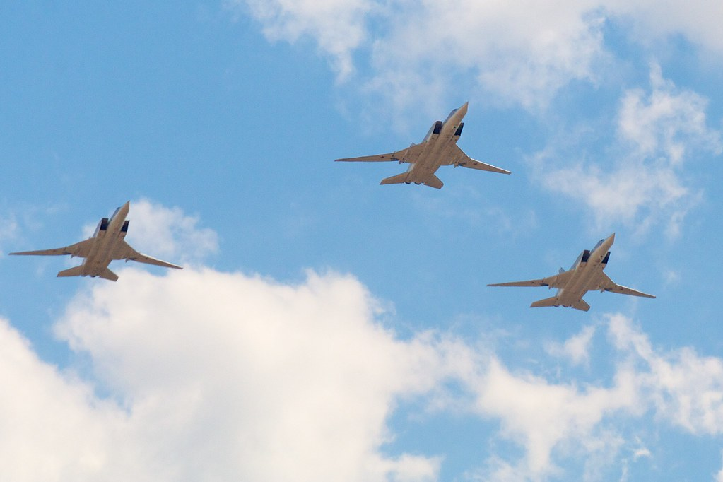 3x Tupolev Tu-22M3 by Andrey Belenko, on Flickr