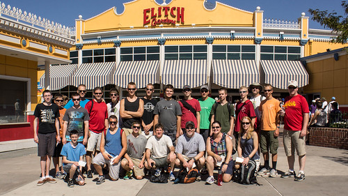 The group at Elitch Gardens