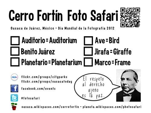 Scorecard: Oaxaca FotoSafari: Cerro Fortin