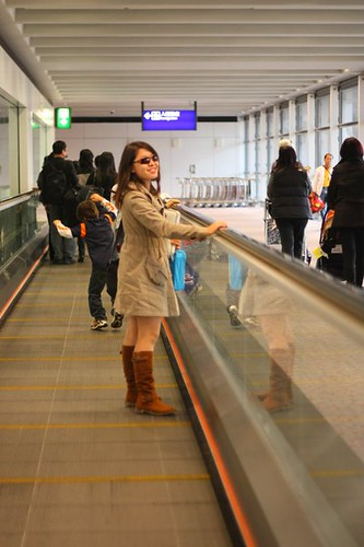 Chic Airport Wear: Izah Morales