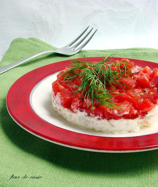 помидоры с козьим сыром 2