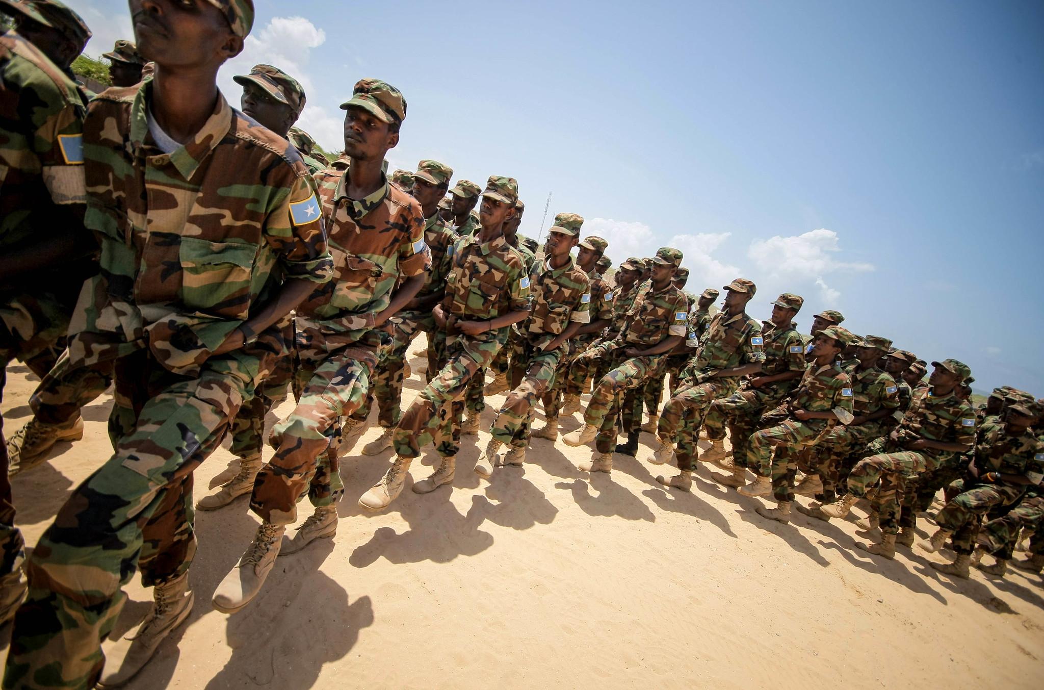 Armée Somalienne / Military of Somalia 7786579966_0999a829fd_k