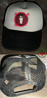 "Nickelodeon's ""Turtles Vs. FOOT "" - 'FOOT CLAN' TRUCKER HAT i (( 2012 ))"