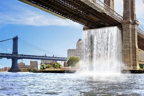 cascada-de-olafur-eliasson-en-el-puente-de-brooklyn