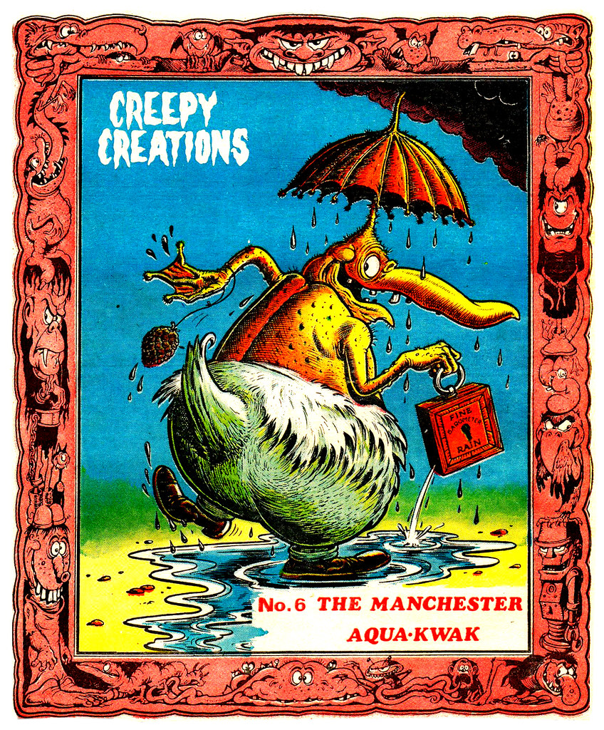 Creepy Creations No.06 - The Manchester Aqua Kwak