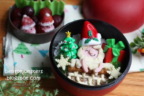 Christmas Santa Claus Bento