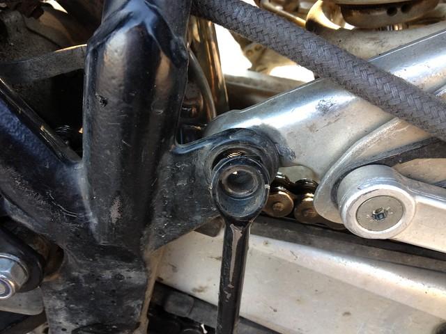 Missing bolt