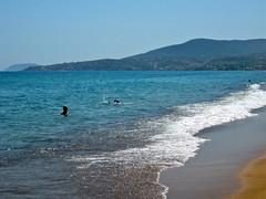 Zaga beach, Koroni