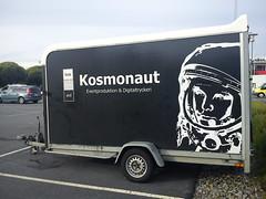 automobile, art, commercial vehicle, vehicle, trailer, land vehicle, travel trailer, advertising,