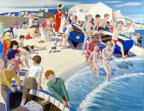 Ernest Proctor - On the Beach at Newlyn
