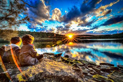 sunset lugarno explorelmg