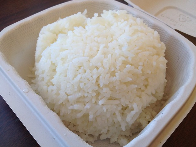 Steamed rice - Tastebuds