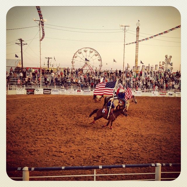 North Texas State Fair Rodeo Ceremony Denton Img 0065