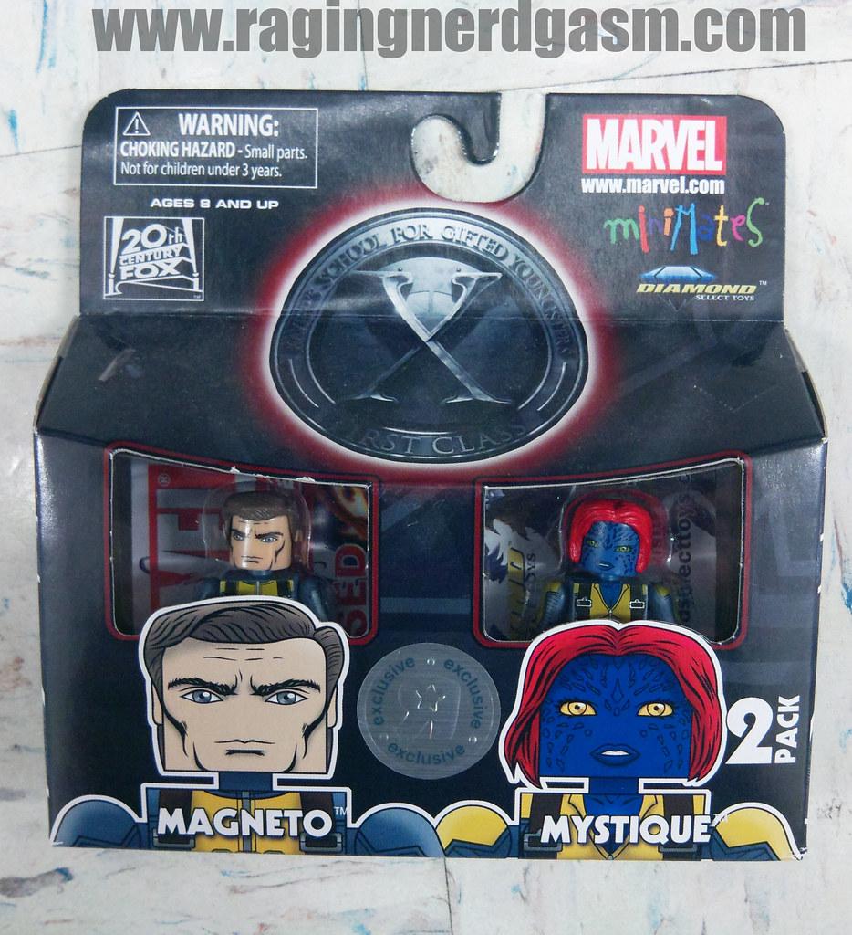MiniMates X-Men Origins