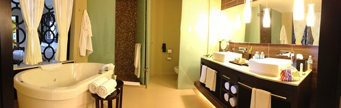 Bathroom pano - Azul Beach Hotel