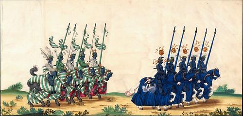 012-Triunfo del Emperador Maximiliano I…1700-Copyright Biblioteca Nacional de España