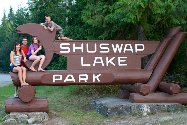 Leboes Shuswap sign