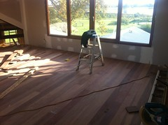 Loft floor in progress 2