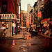 Rainy Afternoon on Pell Street - Chinatown - New York City