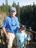 Richard treats grandson Alec to a day of fly fishing