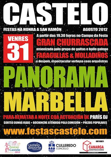 Culleredo 2012 - Festas de San Ramón en Castelo - cartel 2