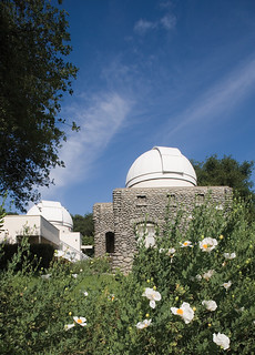 Brackett Observatory (1908) at Pomona College, as it looks today