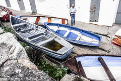 Boats In Coliemore Harbour (Dalkey)
