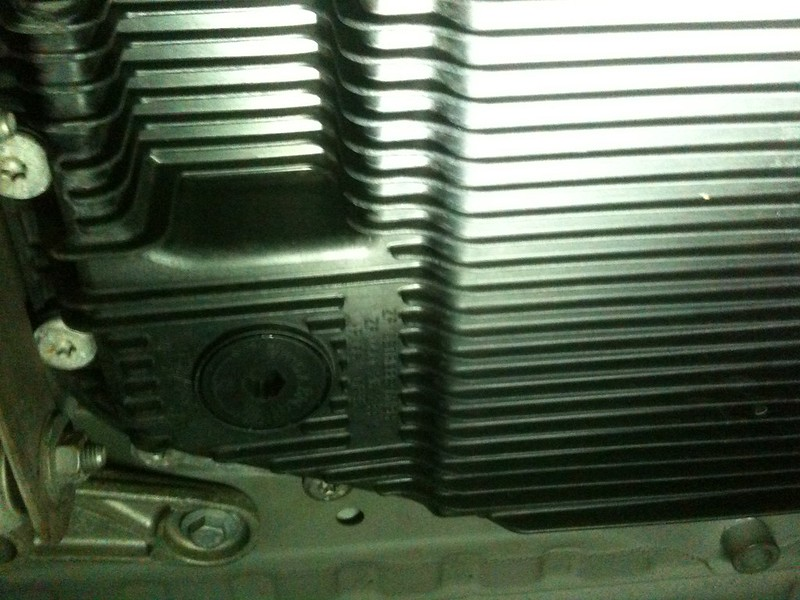 DIY automatic transmission oil change
