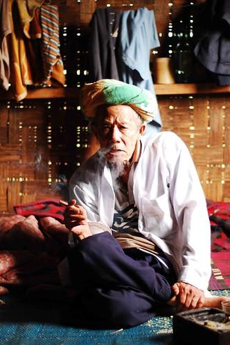 Shaman in Myanmar