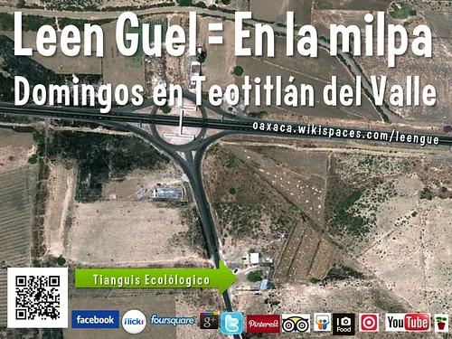 Leen Guel = En la milpa