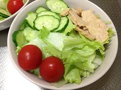 朝食サラダ (2012/8/23)