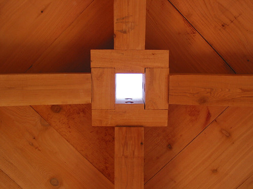 Clayoquot Sound cabin skylight