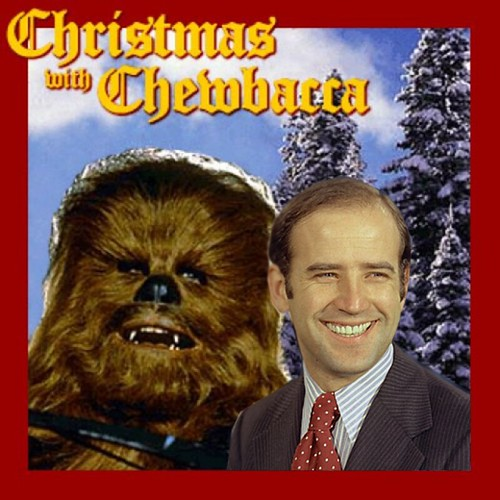 CHRISTMAS WITH CHEWBACCA by Colonel Flick