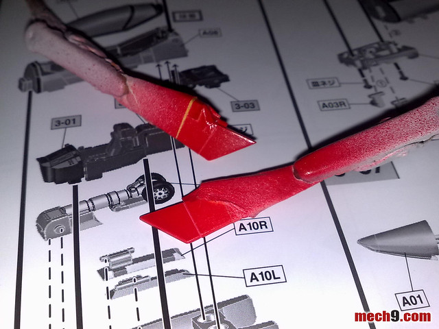 1/60 VF-1A Miria Jenius version Build