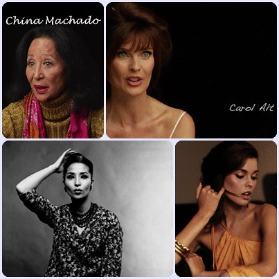 Documental About face (supermodelos entonces y ahora) Carol Alt y China Machado