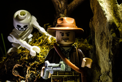 Indiana Jones and the Lego Skeleton